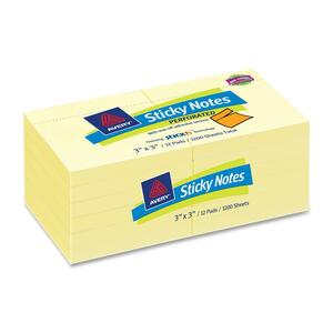 Avery Perforated Sticky Note AVE22646