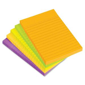 Avery Perforated Citrus Colored Sticky Note AVE22650