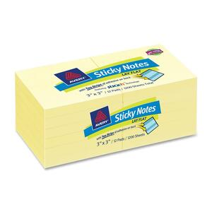Avery Lay Flat Sticky Note AVE22654