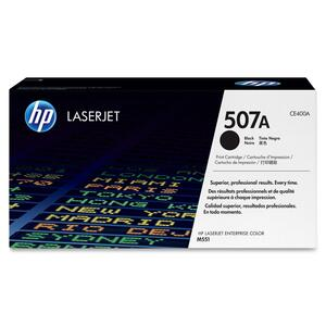 HP 507A (CE400A) Black Original LaserJet Toner Cartridge HEWCE400A