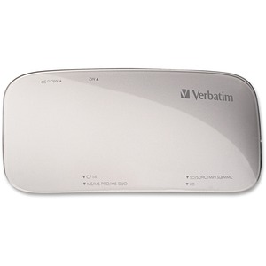Verbatim Universal Card Reader, USB 3.0 - Silver - USB 3.0