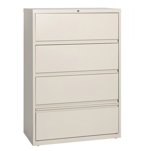 Lorell Receding Lateral File with Roll Out Shelves LLR43510
