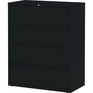 Lorell Receding Lateral File with Roll Out Shelves LLR43515