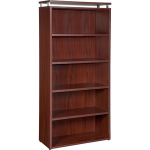 Lorell Five-shelf Bookcase for Ascent and Concordia Series LLR68722