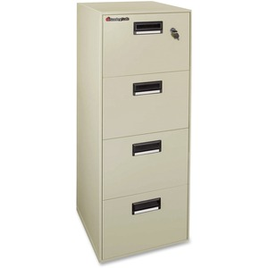 Sentry Safe Vertical Fire File Cabinet SEN4B2100