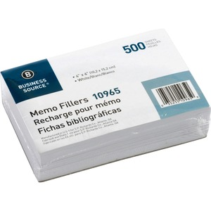 Business Source Memo Filler Sheet BSN10965