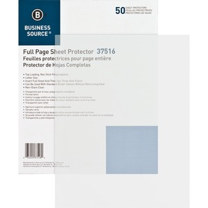 Business Source Sheet Protector BSN37516