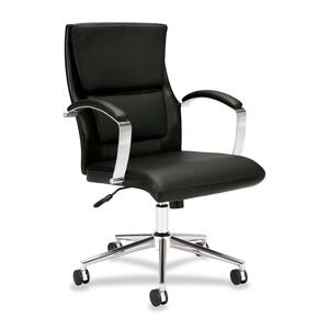 Basyx by HON VL106 Executive Mid-Back Chair BSXVL106SB11