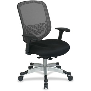 Office Star Duragrid Back/Padded Mesh Seat Chair OSP8293R1C728P