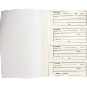 Business Source Duplicate Receipt Book BSN39558
