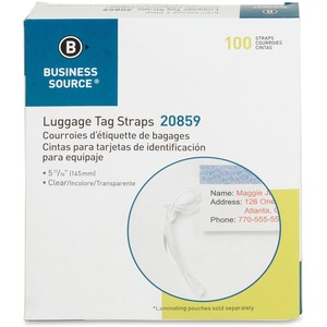 Business Source Luggage Tag Strap BSN20859