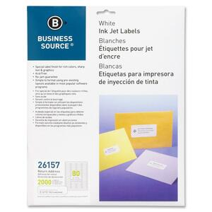 Business Source Mailing Label BSN26157