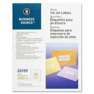 Business Source Mailing Label BSN26159