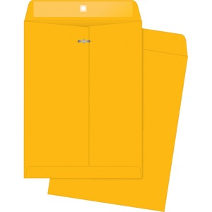 Business Source Rugged Kraft Clasp Envelope BSN04425