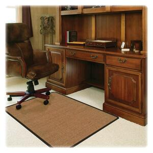 Deflect-o RollaMat Color Band Sisal Chair Mat DEFCM15442FCBS