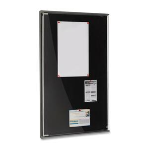 Iceberg Enclosed Tack Board ICE39031