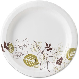 Dixie Pathways Design Soak Proof Paper Plates DXEUX9PATH