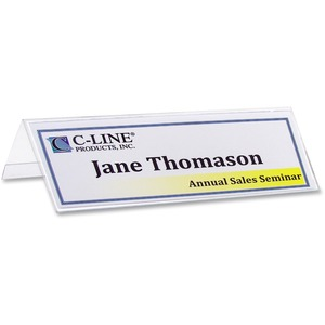 C-line Tent / Placement Name Holder CLI87597