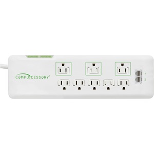 Compucessory 2160 Joules 8-Outlet Surge Protector CCS09854