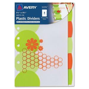 Avery Studio Collection Retro Circles Divider AVE16184