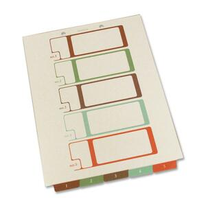 SJ Paper Bottom Tab TOC Divider SJPS08175