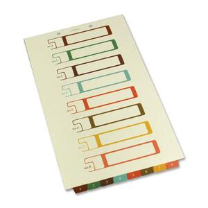 SJ Paper Bottom Tab TOC Divider SJPS08278
