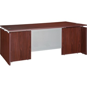 Lorell Ascent Rectangular Executive Desk LLR68684