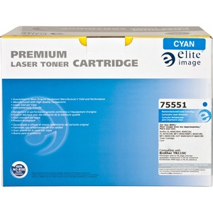 Elite Image Remanufactured Brother TN115C Toner Cartridge ELI75551