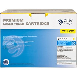 Elite Image Toner Cartridge - Remanufactured for Brother (TN115Y) - Yellow ELI75553
