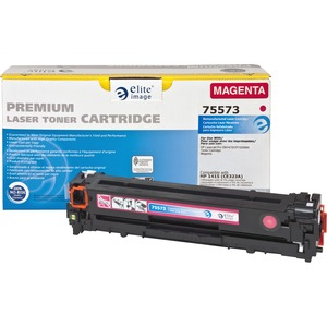 Elite Image Toner Cartridge - Remanufactured for HP - Magenta ELI75573