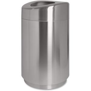 Genuine Joe Curved Top Waste Receptacle GJO58881