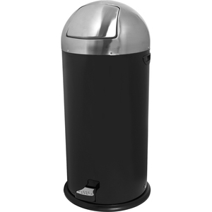 Genuine Joe Round-Top Pedal Receptacle Bin GJO58889