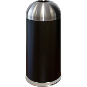 Genuine Joe Domed Top Trash Receptacle GJO58896