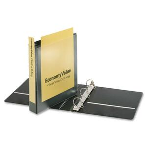 Cardinal EconomyValue ClearVue Slant-D Ring Binder CRD90110
