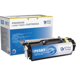 Elite Image Remanufactured Lexmark T650H21A MICR Toner Cartridge ELI75587