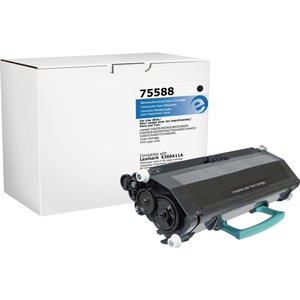 Elite Image Toner Cartridge - Remanufactured for Lexmark (E260A11A) - Black ELI75588