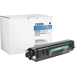 Elite Image Toner Cartridge - Remanufactured for Lexmark (E460X11A) - Black ELI75590
