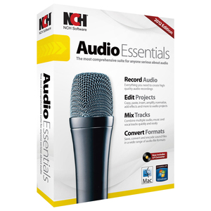 AUDIO ESSENTIALS SUITE WIN MAC RECORD EDIT MIX CONVERT AUDIO FILES