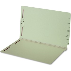 Globe-Weis End Tab Pressboard Folder with Fastener GLW47725