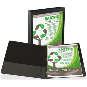 Samsill Earth's Choice 189 Insertable View Binder SAM18910