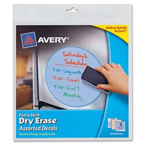Avery Peel and Stick Dry Erase Decal AVE24314