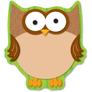 Carson-Dellosa Full-color Owl Notepad CDP151013