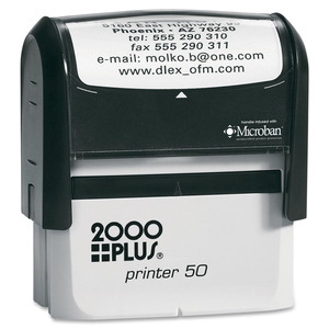 COSCO 2000 Plus P50 Printer Stamp COSP50