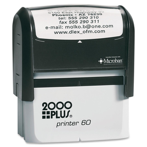 COSCO 2000 Plus P60 Printer Stamp COSP60