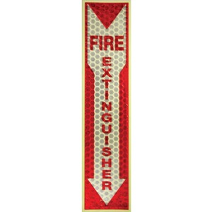 Miller's Creek Luminous Fire Extinguisher Sign MLE151833