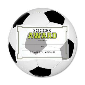 Southworth Motivations Soccer Certificate Award Kit SOUMSK5