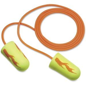 3M™ E-A-Rsoft™ Yellow Neon Blasts™ Disposable Earplugs - Corded