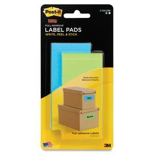 Post-it Super Sticky ID Label Pad MMM2900BLB