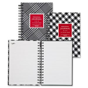 Mead Fashionable Wirebound Personal Journal MEA45652