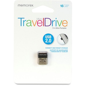 Memorex 16GB Micro TravelDrive USB 2.0 Flash Drive MEM99043